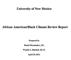 African American/Black Climate Review Report