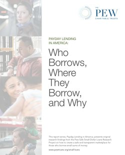 Who Borrows, Where They Borrow and Why