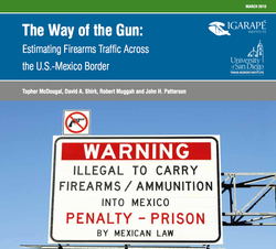 The Way of the Gun: Estimating Firearms Traffic Across the U.S.-Mexico Border