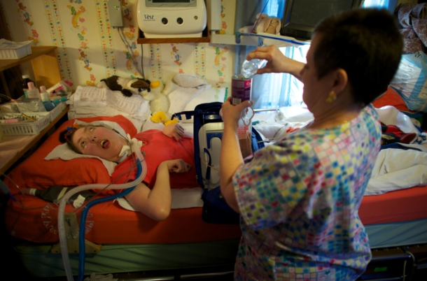 Families Fight To Care For Disabled Kids At Home Kpbs