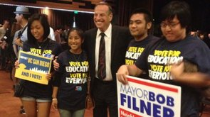 Tease photo: Filner Continues To Lead In San Diego Mayor's Race