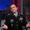 Medal Of Honor Recipient Clinton Romesha Visits Letterman Show (Video)