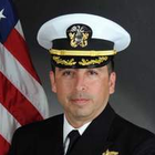 The Navy has removed Cmdr. Allen Maestas as executive officer of the San Diego-based Beachmaster Unit 1 because of &quot;inappropriate&quot; texts and emails sent to two women in his command.