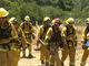 San Diego County Firefighters Train For Wildfire Season