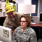 Guess what day it is? Not just Friday the 13th, but also the day before the Army-Navy game. Chief of Naval Operations Adm. Jonathan Greenert took part in a hilarious spirit video that parodies the infamous GEICO Hump Day Camel Commercial.