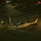 The Navy is investigating why one of its helicopters crashed in Japan on Monday. Two of the four crew members inside the MH-60S Knighthawk were injured when the helicopter was forced to make an emergency landing 10 miles southwest of Yokosuka Naval Base.