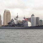 The guided missile cruiser USS Cowpens and the guided missile destroyer USS Spruance are each scheduled to return to Naval Base San Diego on Thursday morning.