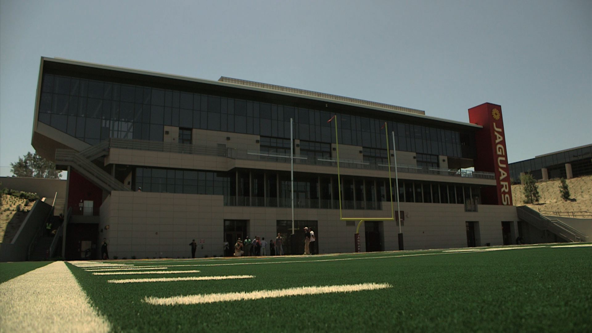 Southwestern College Touts New Football Field Classroom