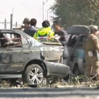 Two U.S. soldiers were killed Tuesday and several others wounded when their motorcade was hit by the blast of a suicide car bomb near Kabul, Afghanistan.