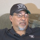 The Marine veteran who saved a woman's life after she jumped from the upper deck of the Oakland Coliseum last November has just been named a Carnegie Hero. Donnie Navidad, 61, of Stockton is one of 21 men and women this year to receive the Carnegie Medal.