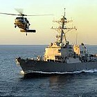 The USS Sampson is slated to depart San Diego on Friday for a scheduled independent deployment to the Western Pacific.