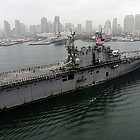 The USS Peleliu will return to Naval Base San Diego Wednesday from its final deployment before decommissioning.