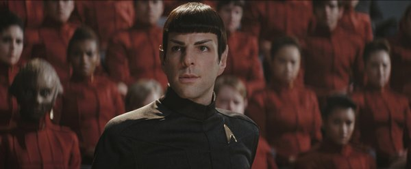 Zachary Quinto is the young Spock