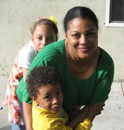 Governor Schwarzenegger's proposed budget would hit nearly every program Gina Jackson's family depends on.