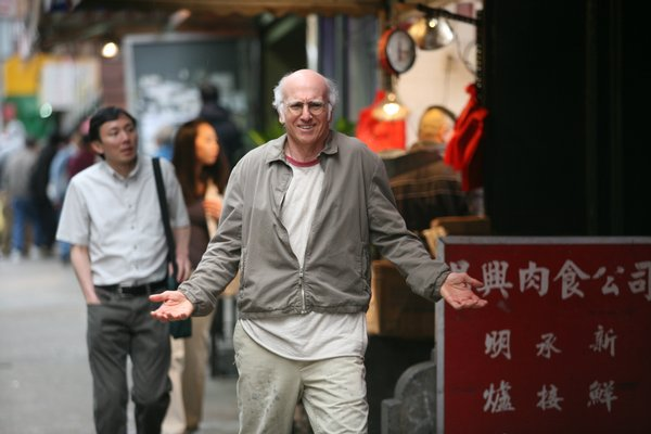 "Larry David breaks the fourth wall in Woody Allen's ""Whatever Works"""