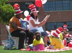 "The focus for Read Across America is to curb the ""summer reading loss."""