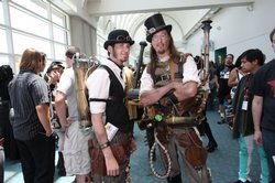 Steampunks At Comic-Con International, 2009