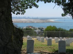 Fort Rosecrans National Cemetery, located located in Point Loma, has run out of room for headstones and can only offer columbarium niches for cremations.