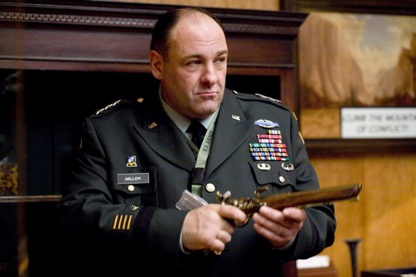 James Gandolfini plays an American General in &quot;In the Loop&quot;