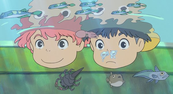 The wonders of childhood in &quot;Ponyo&quot;
