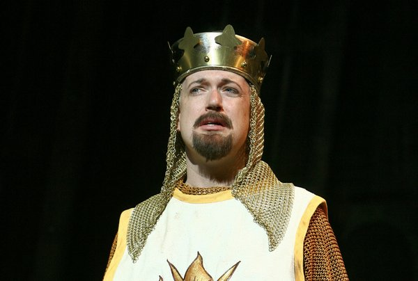 Christopher Gurr as King Arthur