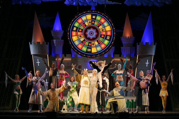 "Camelot is a rather silly place in the musical production of ""Spamalot"""