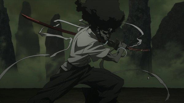 Afro Samurai [5/5] [Mp4] [Sub Esp] [50 Mb] [DF]