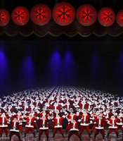 Multiplying santas exemplify to the screen the heartwarming magic that only the holiday season brings.