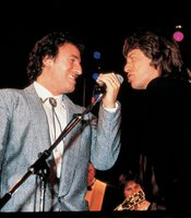 Bruce Springsteen and Mick Jagger