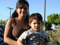 Lydia and her 3-year-old son live in Calexico. She got pregnant when she was 16 years old. 