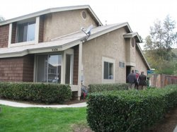 San Diego resident Sheila Davis purchased this townhouse through the San Diego Housing Commission&#39;s first-time homebuyer program. The program has more than $9 million in federal grant money available to help qualified buyers purchase foreclosed properties. 