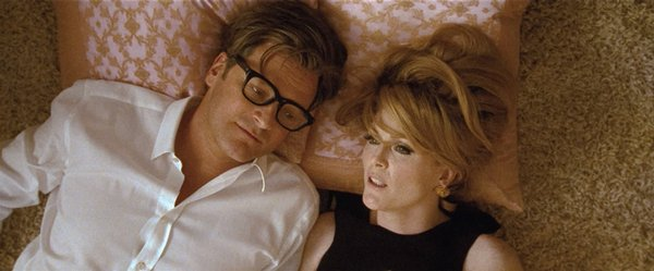 Colin Firth and Julianne Moore in &quot;A Single Man&quot;