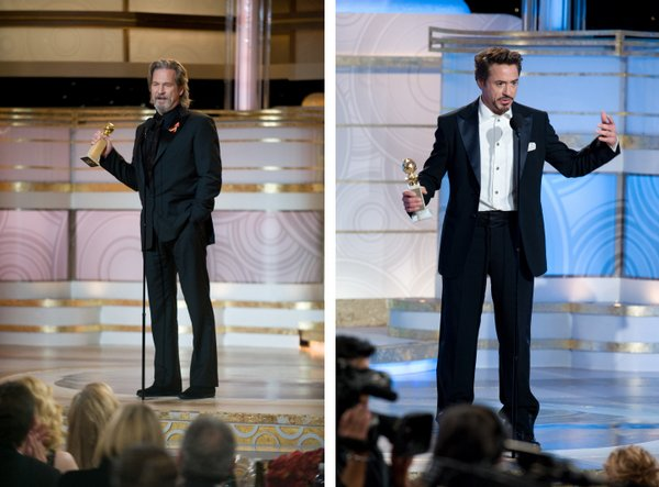 Best Actors: Robert Downey, Jr. and Jeff Bridges