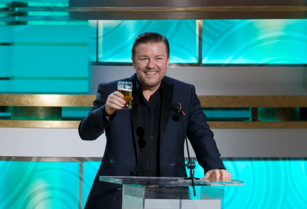 Ricky Gervais introducing Mel Gibson