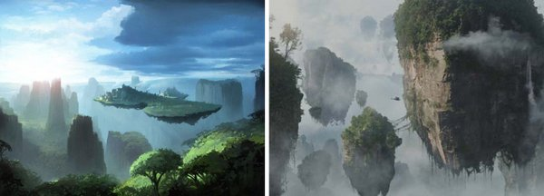 "Hayao Miyazaki's ""Castle in the Sky"" and James Cameron's ""Avatar"""