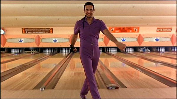 "John Tutorro as Jesus in ""The Big Lebowski"""