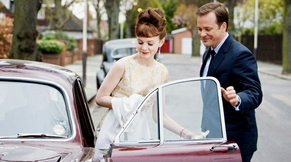 "Carey Mulligan and Peter Sarsgaard in ""An Education,"" currently playing at Landmark's Hillcrest Cinemas."