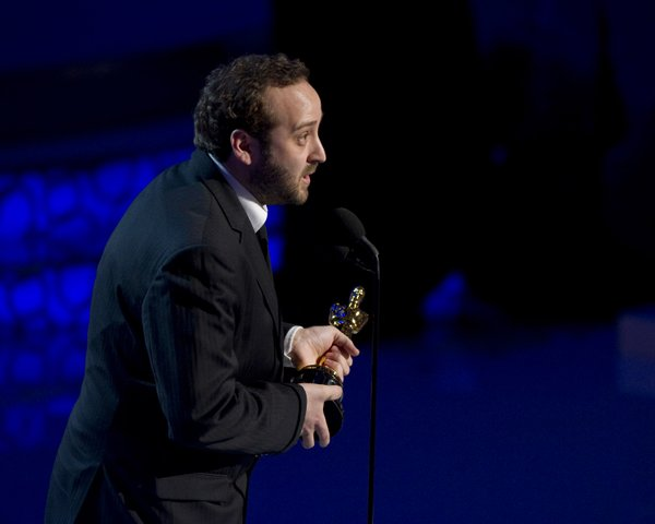 "Nicolas Schmerkin won for Best Animated Short, ""Logorama."""