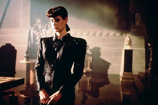 "Sean Young stars as Rachel, a woman who doesn't realize that she is a replicant in ""Blade Runner."""