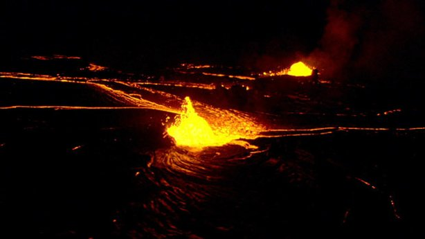 Kilauea, on Hawaii's Big Island, is the world's most active volcano.
