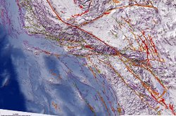 California Geological Survey's new seismic map shows 50 new surface faults that have been discovered over the last two decades.