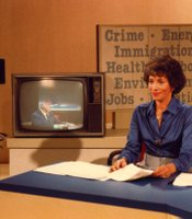 "Hosted by Gloria Penner, ""Agenda 81"" was a key program in KPBS' coverage of local, state, and national politics."