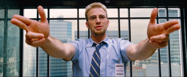 "Chris Evans performs some ""magic"" in ""The Losers"""