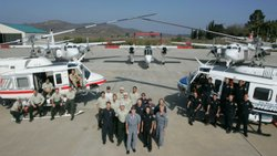 "In this image provided by the Citygate Associates study, ""Regional Fire Services Deployment Study,"" CAL FIRE, San Diego County Sheriff, and Forest Service assets are pictured."