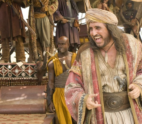 "Alfred Molina chews up some of the scenery in ""Prince of Persia: The Sands of Time"""