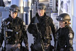 "Members of the cast of the CBS procedural ""Flashpoint."" Courtesy of CBS."