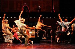 "A scene from the Tony Award winning musical ""Memphis."" The play was first produced at the La Jolla Playhouse."