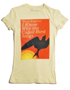 """I Know Why the Caged Bird Sings"" T-Shirt from Out of Print"