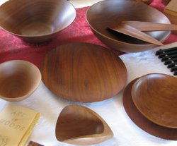 Lathe-turned wood objects - Lemurian Crafts