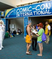 It seems like everyone has a camera at Comic-Con and anyone in costume comes ready to pose.
